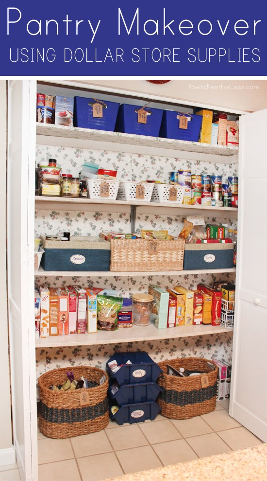 pantry makeover nest for less